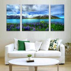 Schilderij ophangsysteem voor Drieluik schilderijen