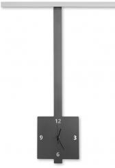 Stas Clocktica RVS 43 cm